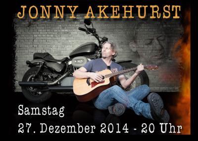27 Dezember 2014 Live mit Jonny Akehurst