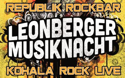 09 Mai – Leonberger Musiknacht KOHALA Live in der Republik